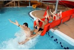 "Akvaparka apmeklējums ""Trasalis Trakai Resort & SPA""  un garda pica"