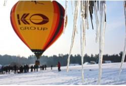 Aizraujošs lidojums ar gaisa balonu Viļņā