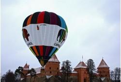 Neaizmirstams ldojums ar gaisa balonu ziemā 1 personai Traķos