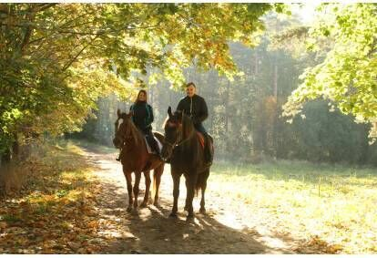 Izjāde ar zirgu  2 personām