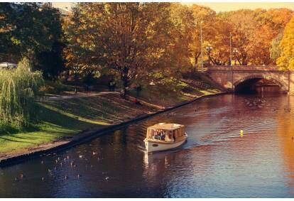 Круиз Рижского канала