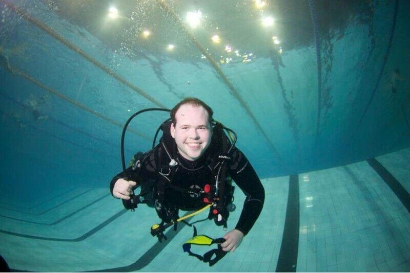 """Niršanas kurss """"Scuba Diver"""""""
