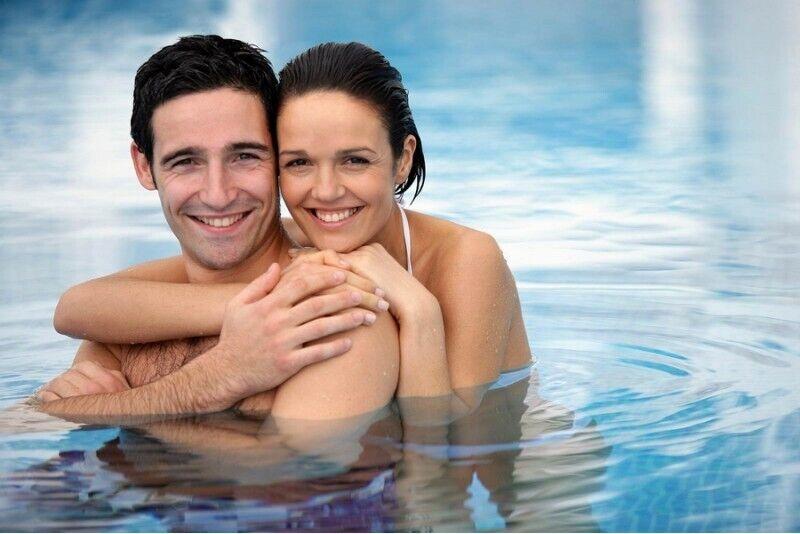 Посещение  бассейна и  бани в Шауляй