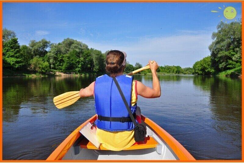 Vidēji garš, relaksējošs kanoe brauciens un nakšņošana 2 personām
