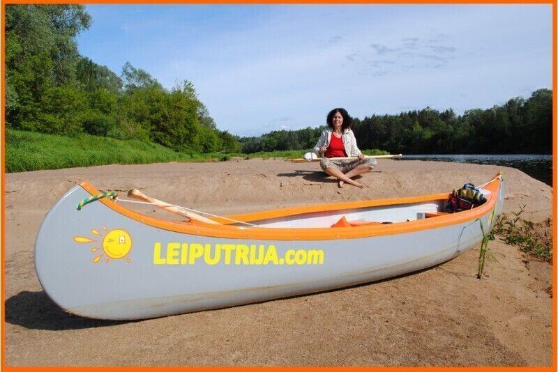 Relaksējošs un viegls kanoe brauciens un nakšņošana (kempinga mājiņa)