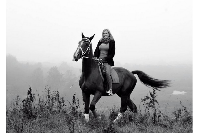 Pārsteidzoša fotosesija ar zirgiem 1-12 personām Viļņā