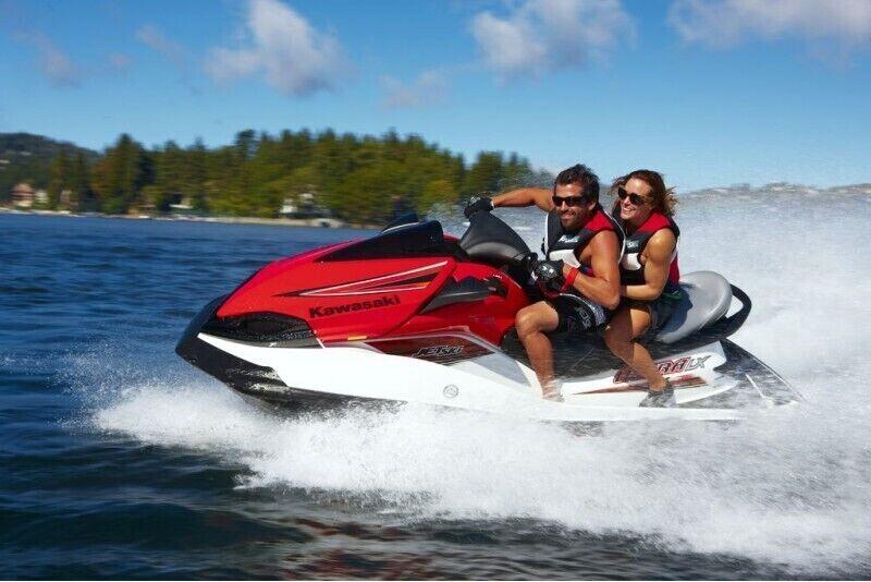 Adrenalīns uz ūdens motocikla