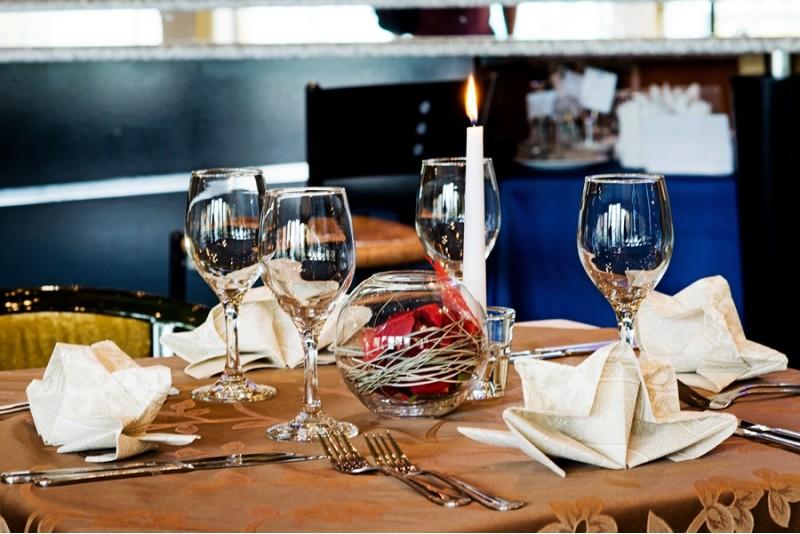 """Ужин  в ресторане гостиницы """"Best Baltic Hotel Palanga"""""""