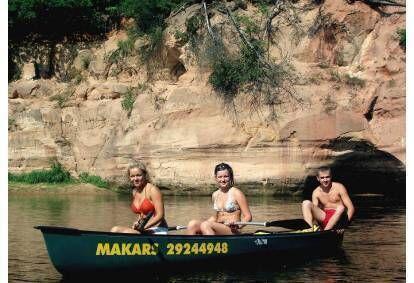 Поездка на лодке по Гауе