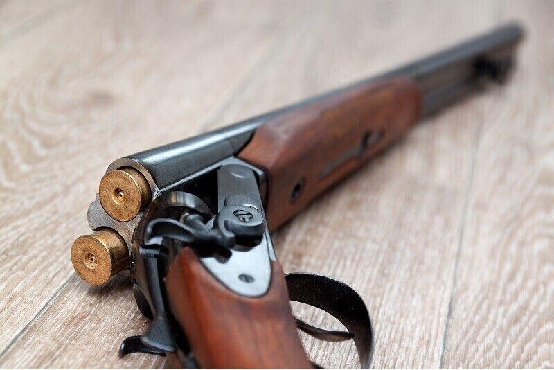 Šaušana pa skrejošu mežacūku 35 m attālumā ar gludstobra ieroci