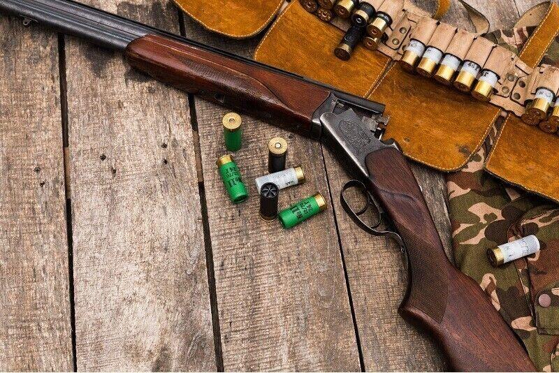 Šaušana pa skrejošu mežacūku 35 m attālumā ar mazkalibra ieroci