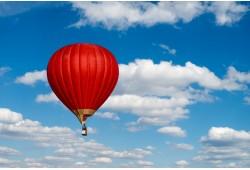 Romantisks lidojums ar gaisa balonu diviem Šauļos