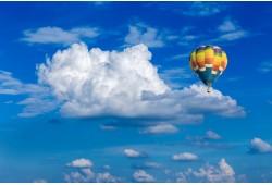 Nepamirštamas skrydis oro balionu Klaipėdoje