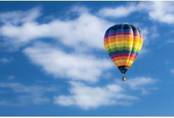 Romantiškas skrydis oro balionu Panevėžyje