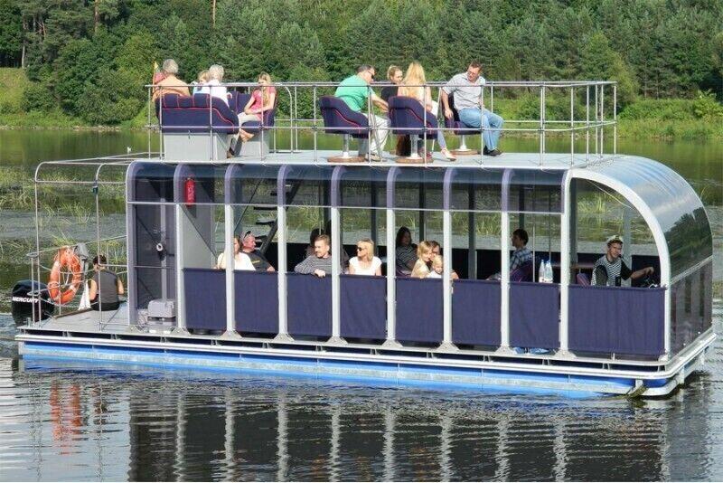 "Экскурсия по Нямунасу на корабле  ""JUSTINA"""