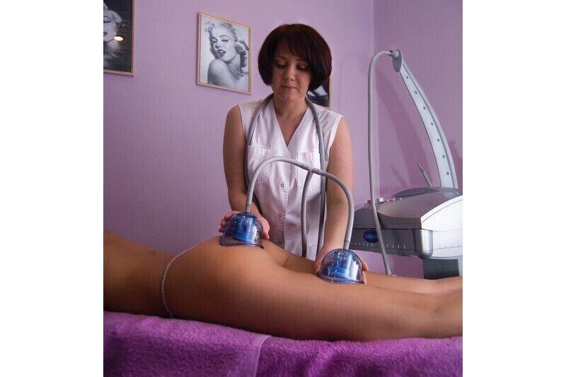 Вакуумно-роликовый массаж на аппарате «Starvac SP»