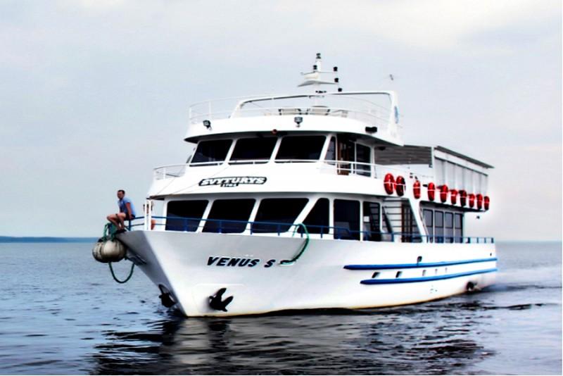 """Dienas brauciens uz Juodkranti ar kuģai """"Venus"""" divām personām"""