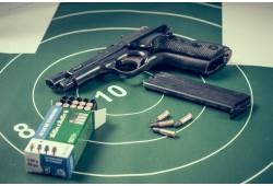 """Šaušanas komplekts """"Šaušanas lietpratējs"""" ar 3 ieročiem"""