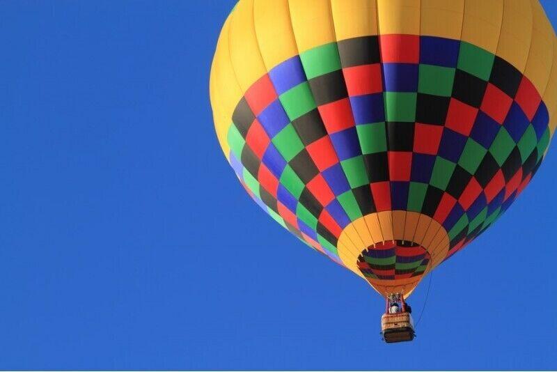 Aizraujošs lidojums ar gaisa balonu Bauskā