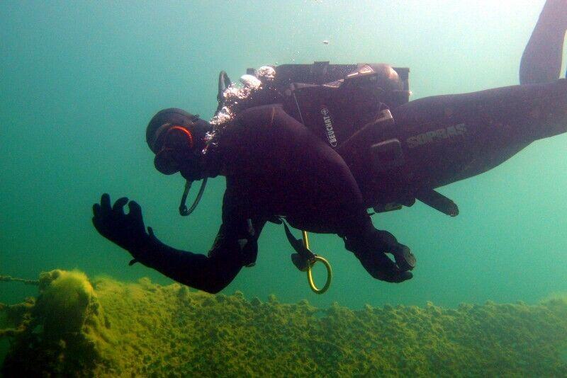 Pirmā iepazīšanās ar zemūdens pasauli (INTRO Dive).