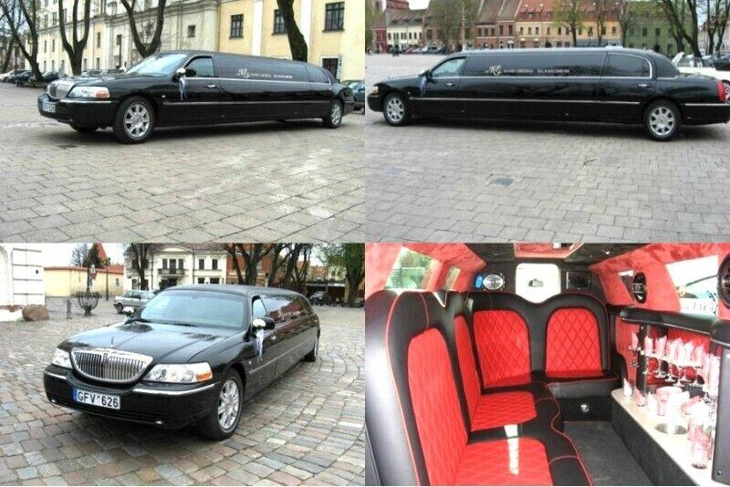 Катание на лимузине Lincoln в Каунасе для компании из 1-10 человек