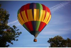 Nepamirštamas skrydis oro balionu Trakuose