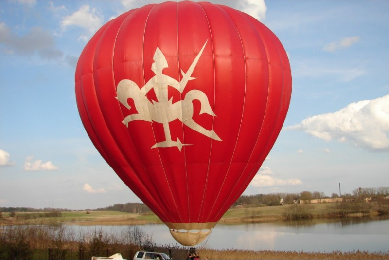 """Romantisks lidojums ar gaisa balonu virs """"Balonistu Sētas"""""""