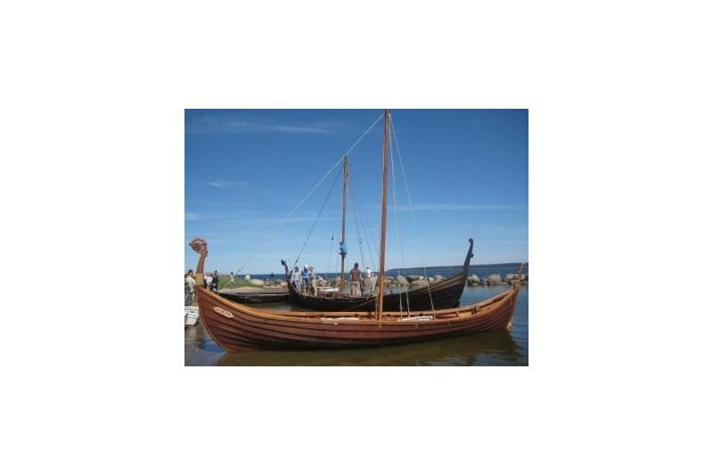 Izbrauciens ar vikingu kuģi Kaasmu