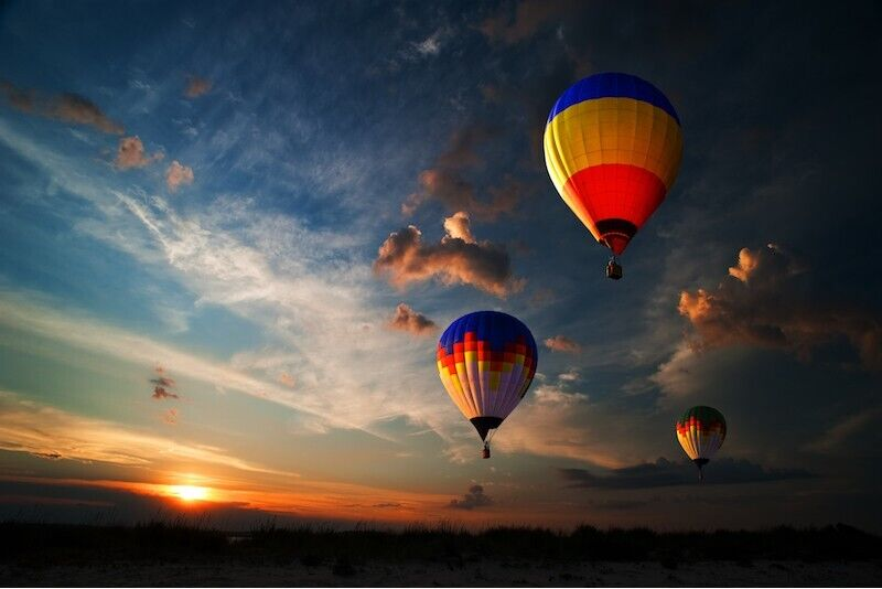 Romantisks lidojums ar gaisa balonu diviem Tallinā