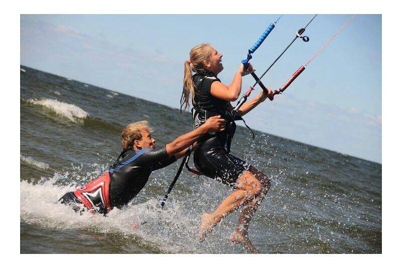 Iepazīšanās vindsērfinga treniņš Viisā