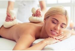Незабываемый массаж травяными пиндами(мешочками) или гречишный массаж всего тела для гармонии и здоровья в Риге
