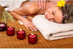 Relaksējoša antistresa masāža ar degošu masāžas sveci Ogrē