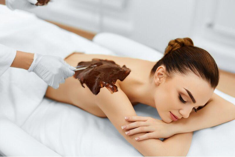 SPA-ритуал с черным шоколадом и апельсиновым маслом