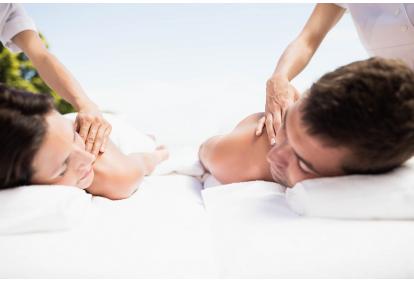 Релаксирующий массаж для пары