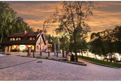 """Nakvynė viloje """"Gernavilis"""" su vaizdu į ežerą Utenoje"""