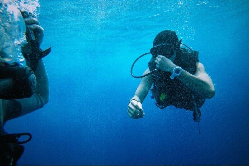 Zemūdens niršanas apmācība Rīgā