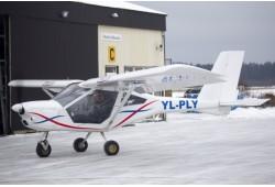 Полет в двухместном самолете AEROPRAKT-22 в сопровождении опытного пилота