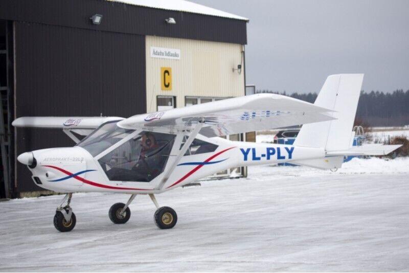 Незабываемый часовой полет на самолете AEROPRAKT-22