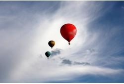 VIP skrydis oro balionu Kaune 3-4 asmenims