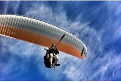 Tandēma lidojums ar paraplānu + video Rāplā