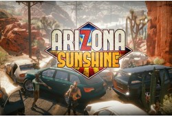 "Multiplayer virtuālās realitātes spēle ""Arizona Sunshine"""