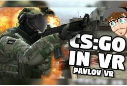 """Multiplayer virtuālās realitātes spēle """"CS:GO IN VR"""""""