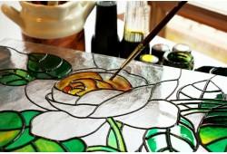 Stikla apgleznošanas nodarbība