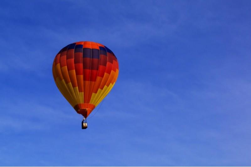 Lidojums ar gaisa balonu ziemā Cēsīs – Ziemā tuvāk saulei