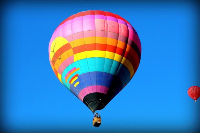 Полет на воздушном шаре зимой в Добеле — Зимой ближе к солнцу