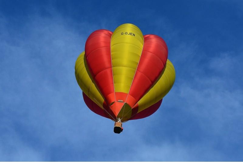 Lidojums ar gaisa balonu ziemā Jelgavā – Ziemā tuvāk saulei