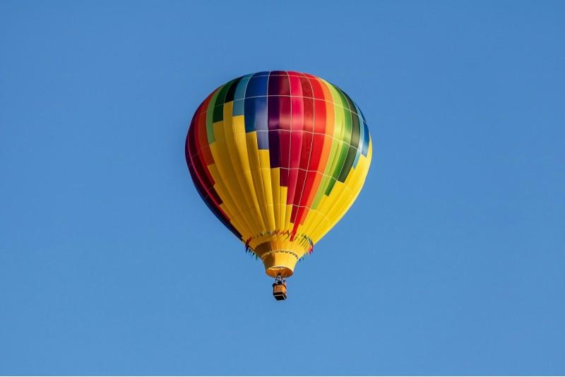 Полет на воздушном шаре зимой в Кулдиге — Зимой ближе к солнцу