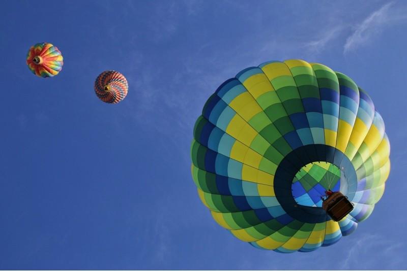Полет на воздушном шаре зимой в Талси — Зимой ближе к солнцу
