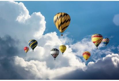 Aizraujošs lidojums ar gaisa balonu Jelgavā