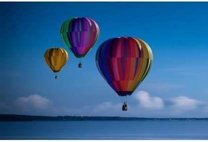 Aizraujošs lidojums ar gaisa balonu Kuldīgā